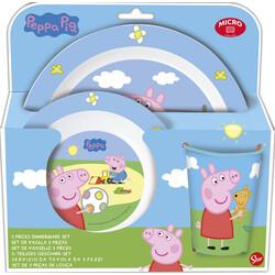 SET MICRO 3 PCS. PEPPA PIG CORE