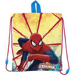 BOLSA MERIENDA SPIDERMAN RED WEBS