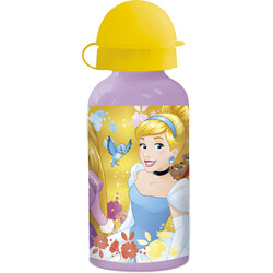 BOTELLA ALUMINIO 400 ML. PRINCESS FOREVER