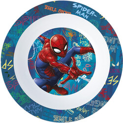 CUENCO MICRO KIDS SPIDERMAN GRAFFITI