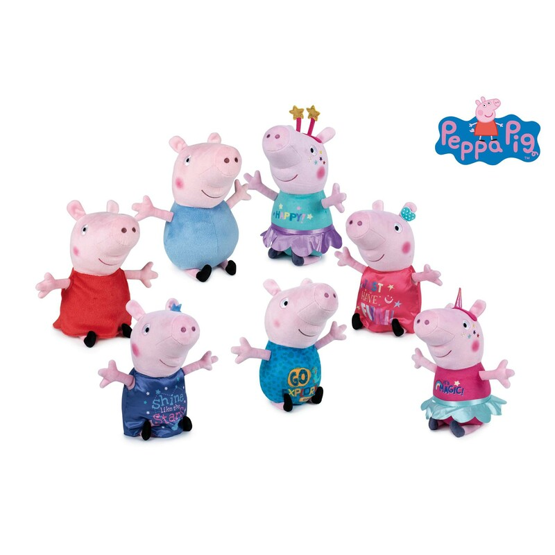 PELUCHE 30CM PEPPA PIG