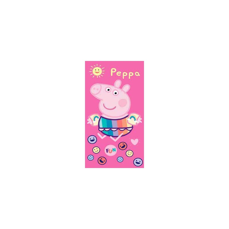 TOALLA MICRO 70*140 PEPPA PIG