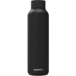BOTELLA 630ML SOLID JET BLACK QUOKKA