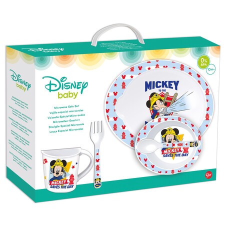SET MICRO BABY 5 PCS MICKEY