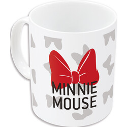 TAZA CERAMICA 325 ML. MINNIE BOWS
