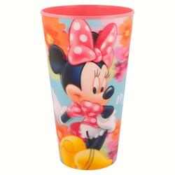 VASO LENTICULAR 540ML MINNIE MOUSE