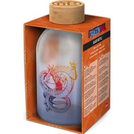 BOTELLA CRISTAL DRAGON BALL