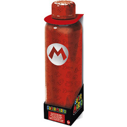 BOTELLA ACERO INOXIDABLE SUPER MARIO