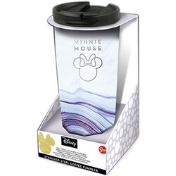 VASO CAFÉ ACERO INOXIDABLE MINNIE MOUSE