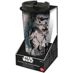 VASO CAFÉ ACERO INOXIDABLE STAR WARS